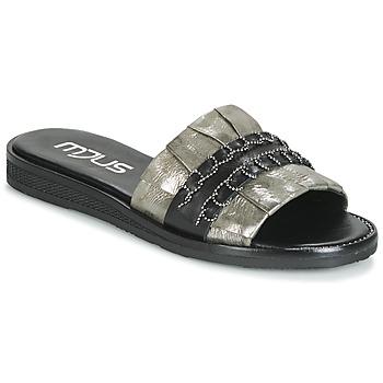 鞋子 女士 休闲凉拖/沙滩鞋 Mjus TEMPLE 卡其色 / 黑色