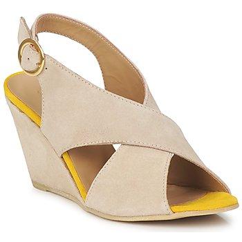 鞋子 女士 凉鞋 Pieces OTTINE SHOP SANDAL 灰褐色