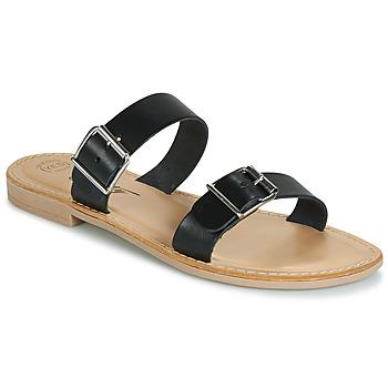 鞋子 女士 休闲凉拖/沙滩鞋 Betty London JADALEBE 黑色