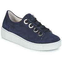 鞋子 女士 球鞋基本款 Gabor 嘉宝 POMPON 海蓝色