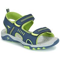 鞋子 男孩 凉鞋 Kangaroos K-LOGAN 海蓝色 / 绿色