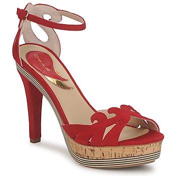 鞋子 女士 凉鞋 Etro 艾特罗 3488 红色
