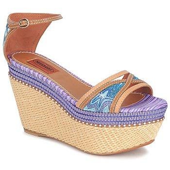 鞋子 女士 涼鞋 Missoni TM26 藍色 / 棕色