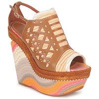 鞋子 女士 凉鞋 Missoni TM22 棕色 / 橙色