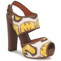 鞋子 女士 凉鞋 Missoni TM81 棕色 / 米色 / 黄色
