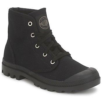 鞋子 女士 短筒靴 Palladium 帕拉丁 US PAMPA HI 黑色