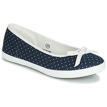 鞋子 女士 平底鞋 André ALBA 海蓝色 / 白色