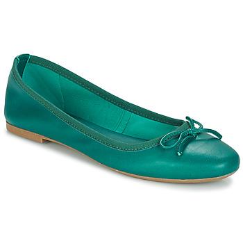 鞋子 女士 平底鞋 André PIETRA 綠色
