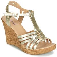 鞋子 女士 涼鞋 André FABULEUSE 金色