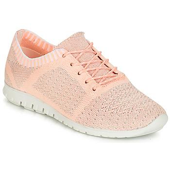 鞋子 女士 球鞋基本款 André SURF 玫瑰色