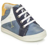 鞋子 男孩 短筒靴 André PEDALO 蓝色