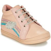 鞋子 女孩 短筒靴 André ONDEE 玫瑰色