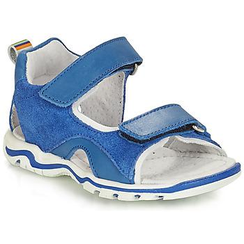 鞋子 男孩 凉鞋 André PLANCTON 蓝色