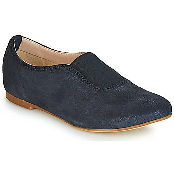 鞋子 女孩 皮便鞋 André MALAGA 海蓝色