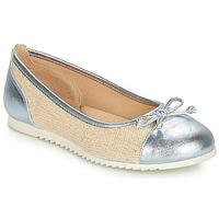 鞋子 女孩 平底鞋 André RIVAGE 蓝色 / 米色