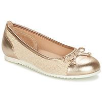 鞋子 女孩 平底鞋 André RIVAGE 金色