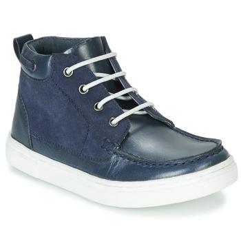 鞋子 男孩 短筒靴 André PIRATE 海蓝色