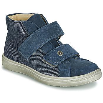 鞋子 男孩 短筒靴 André HUBLOT 牛仔