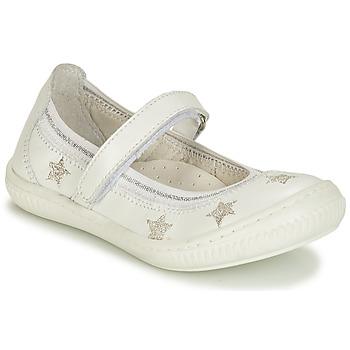鞋子 女孩 平底鞋 André STELLA 白色
