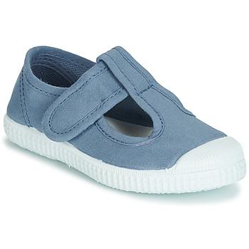 鞋子 女孩 凉鞋 André NAVIRE 蓝色