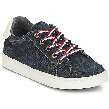 鞋子 男孩 球鞋基本款 André KRILL 蓝色