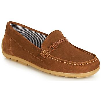 鞋子 女孩 德比 André GASPARD 棕色