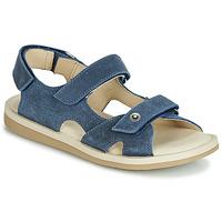 鞋子 男孩 涼鞋 André CANNOT 海藍色
