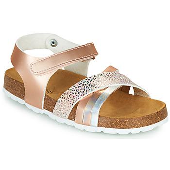 鞋子 女孩 凉鞋 André CARAIBE 玫瑰色