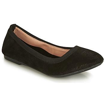 鞋子 女士 平底鞋 André CARLARA 黑色