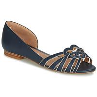 鞋子 女士 平底鞋 André CHRISTIE 海蓝色