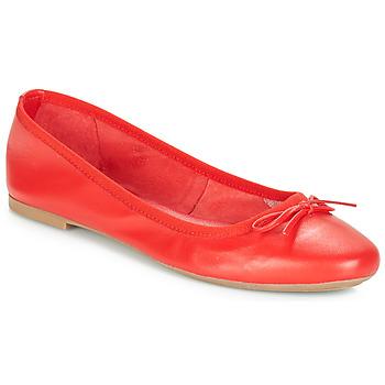 鞋子 女士 平底鞋 André PIETRA 红色