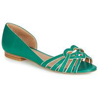 鞋子 女士 平底鞋 André CHRISTIE 綠色
