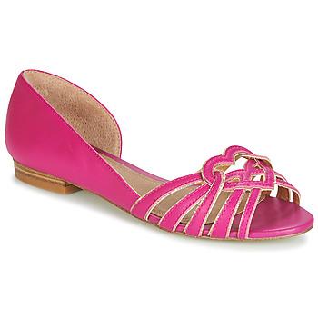 鞋子 女士 平底鞋 André CHRISTIE 玫瑰色