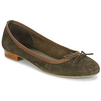 鞋子 女士 平底鞋 André CINDY 卡其色