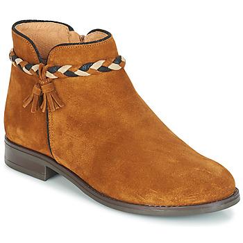 鞋子 女士 短筒靴 André RAVIE 駝色