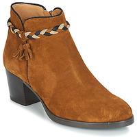 鞋子 女士 短靴 André RADIEUSE 棕色