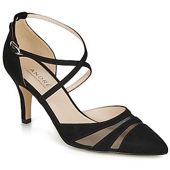 鞋子 女士 高跟鞋 André CARMEN 黑色