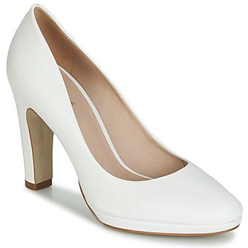 鞋子 女士 高跟鞋 André CALI 白色