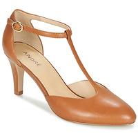 鞋子 女士 高跟鞋 André FALBALA 駝色
