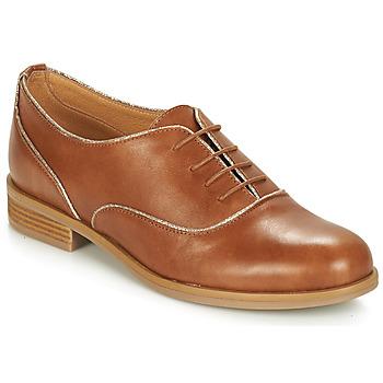 鞋子 女士 德比 André CHOMINE 驼色