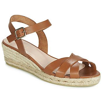 鞋子 女士 帆布便鞋 André RODA 棕色