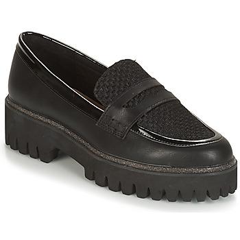 鞋子 女士 皮便鞋 André COREANE 黑色