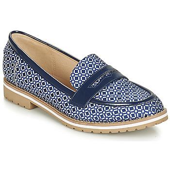 鞋子 女士 皮便鞋 André PORTLAND 蓝色