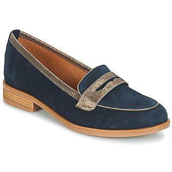 鞋子 女士 皮便鞋 André ROAD 蓝色
