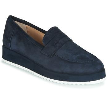 鞋子 女士 皮便鞋 André CLICK 海藍色