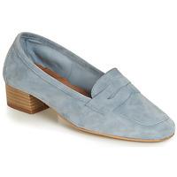 鞋子 女士 皮便鞋 André SENLIS 蓝色