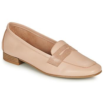 鞋子 女士 皮便鞋 André NAMOURS 裸色