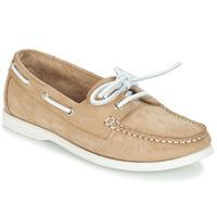 鞋子 女士 船鞋 André CATBOAT 米色