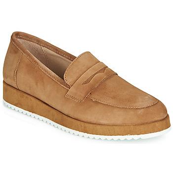 鞋子 女士 皮便鞋 André CLICK 驼色