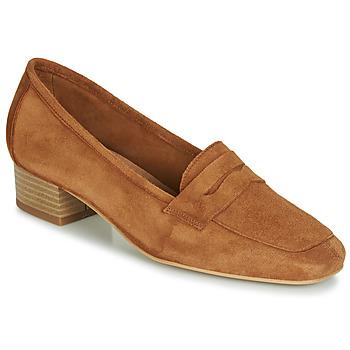 鞋子 女士 皮便鞋 André SENLIS 駝色